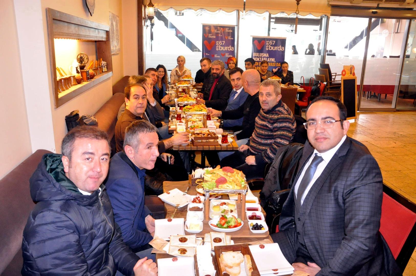 Esas 67 Burda AVM Zonguldak basınını ağırladı