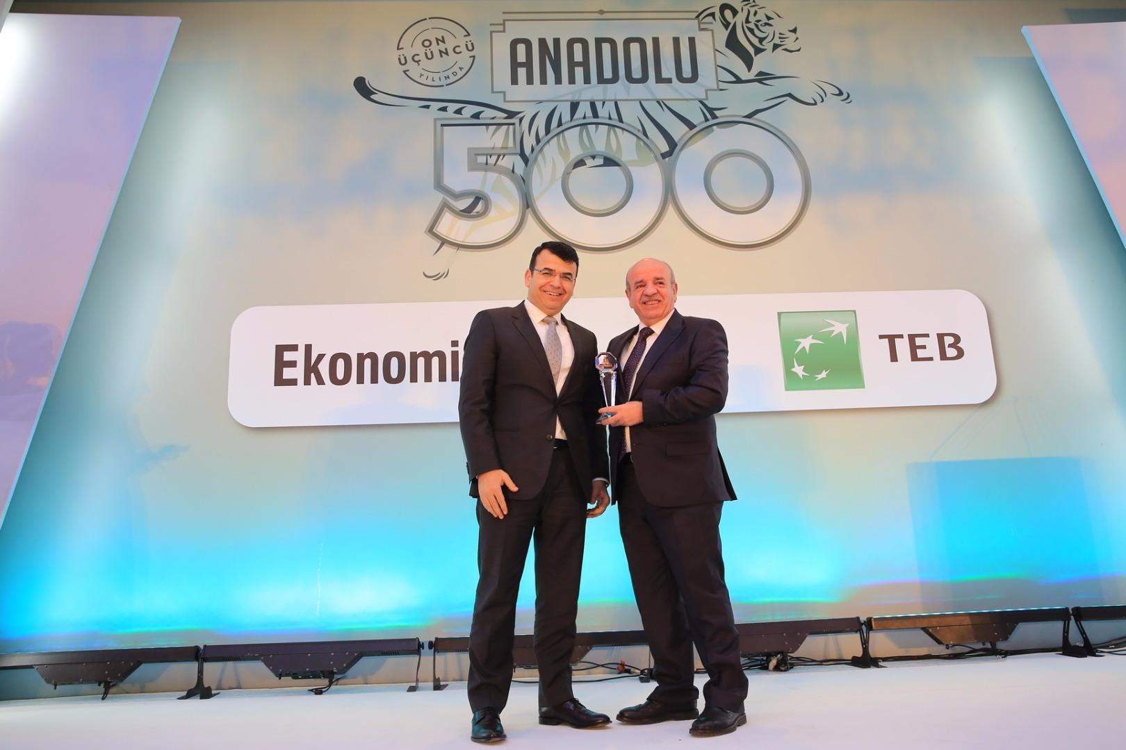 Anadolu 500 ödül töreninde Beşler Un'a 2 ödül verildi