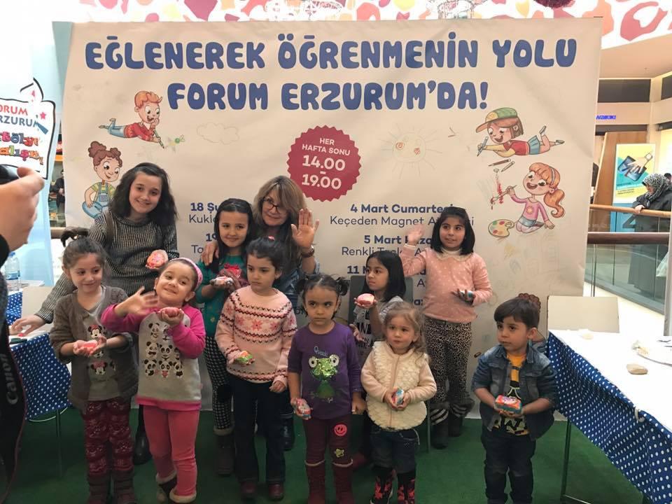 Forum Erzurum etkinlikleri yoğun ilgi görüyor