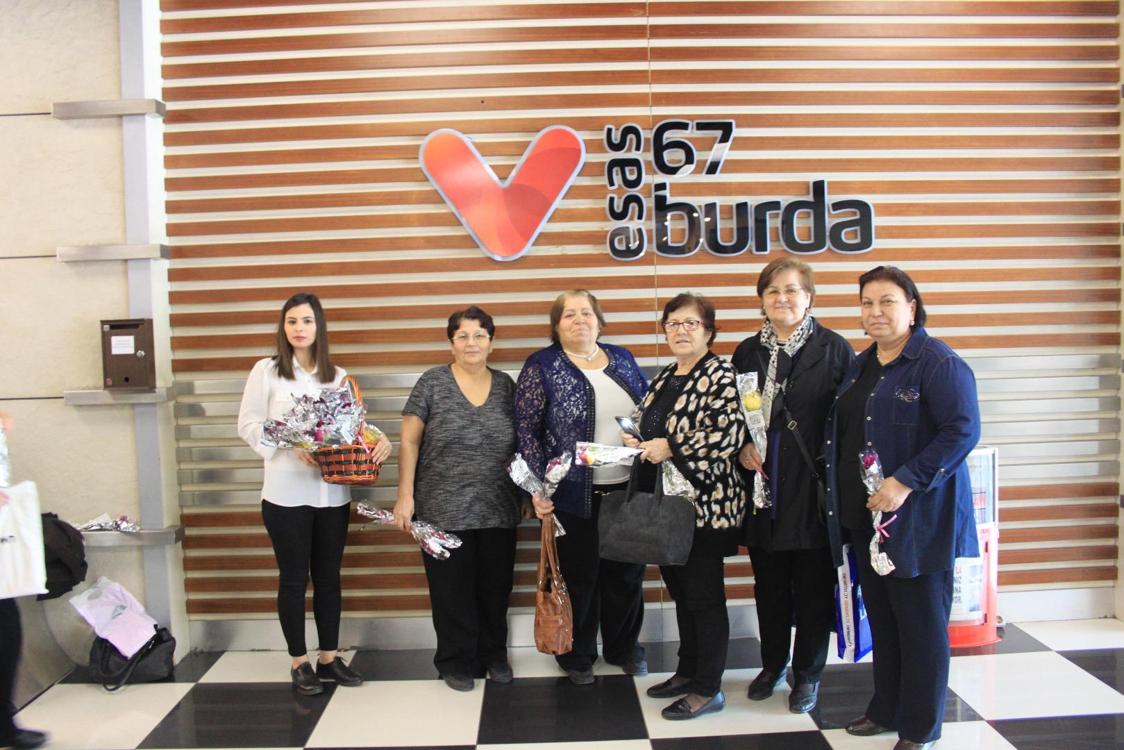 Kadınlar Günü 67 Burda'da sürprizlerle kutlandı