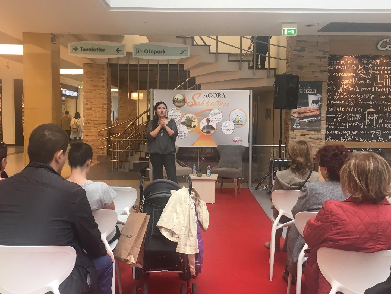 Sağlıklı zayıflama yöntemleri Agora'da konuşuldu