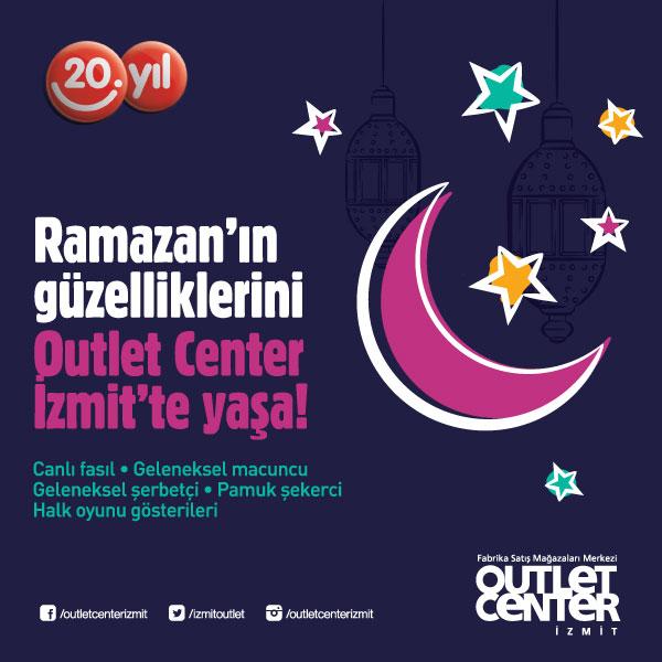 Outlet Center İzmit'te Ramazan etkinlikleri