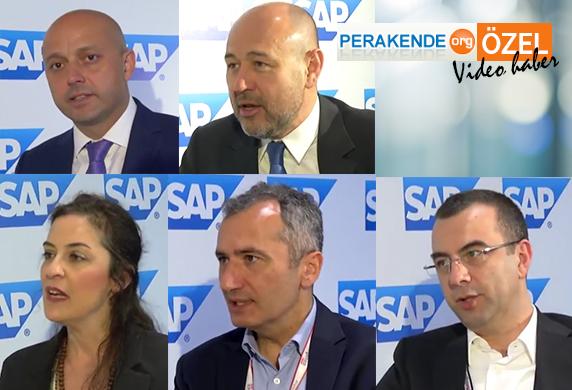 SAP Perakende Forum'da ünlü markalardan değerlendirmeler...