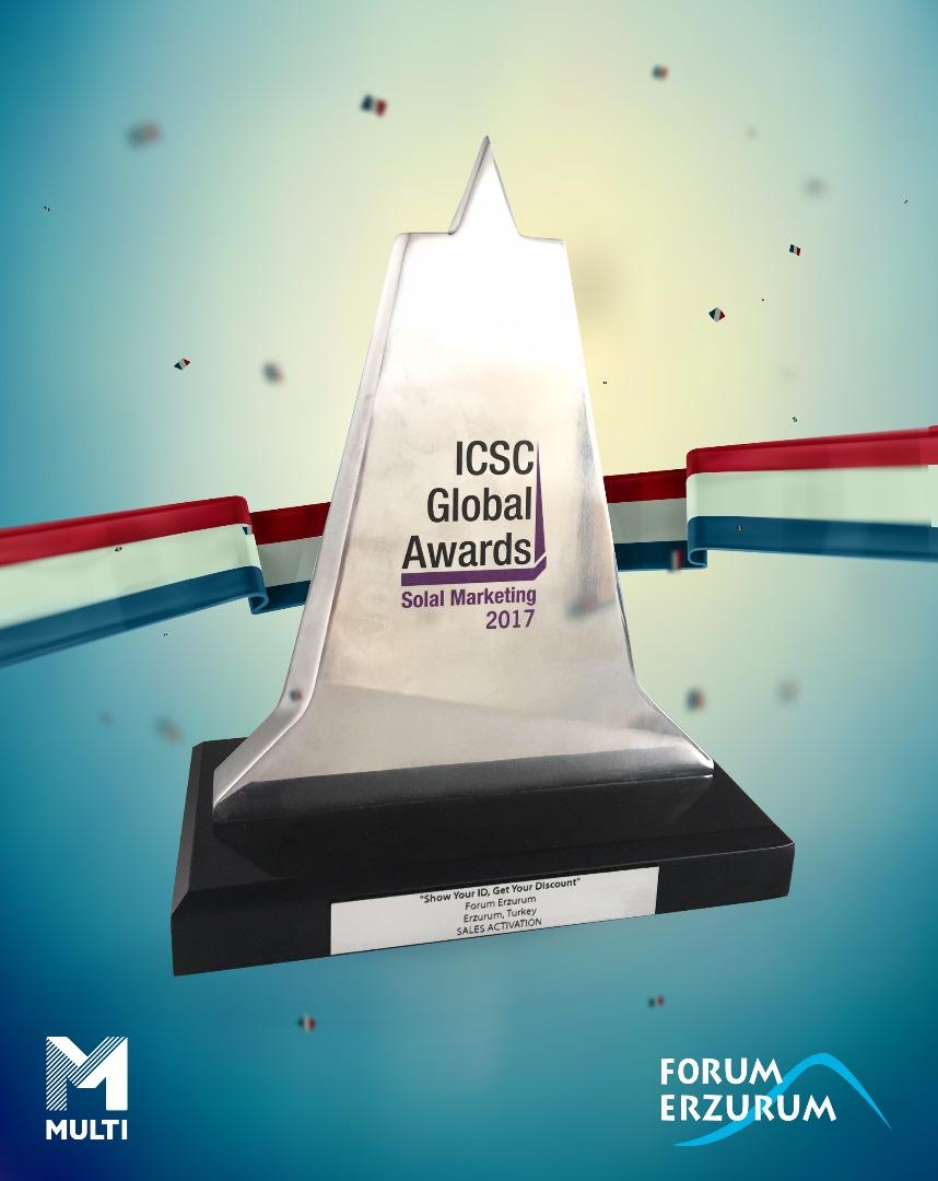 ICSC ödülü Forum Erzurum'un