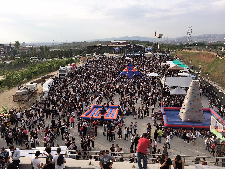 Ankara, Kentpark AVM ile festivale doydu!