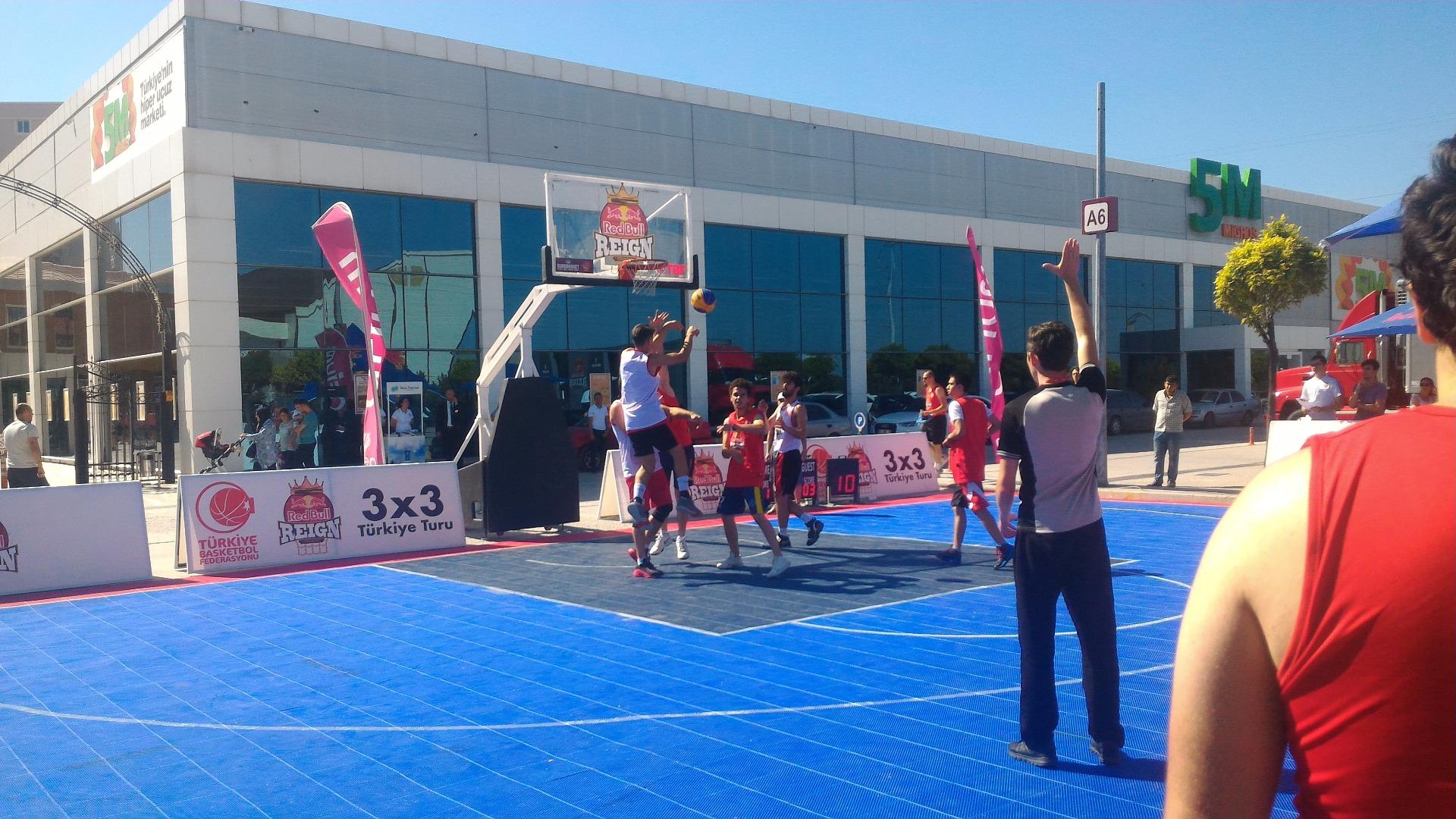 Basketbol ruhu Afium'da canlandı