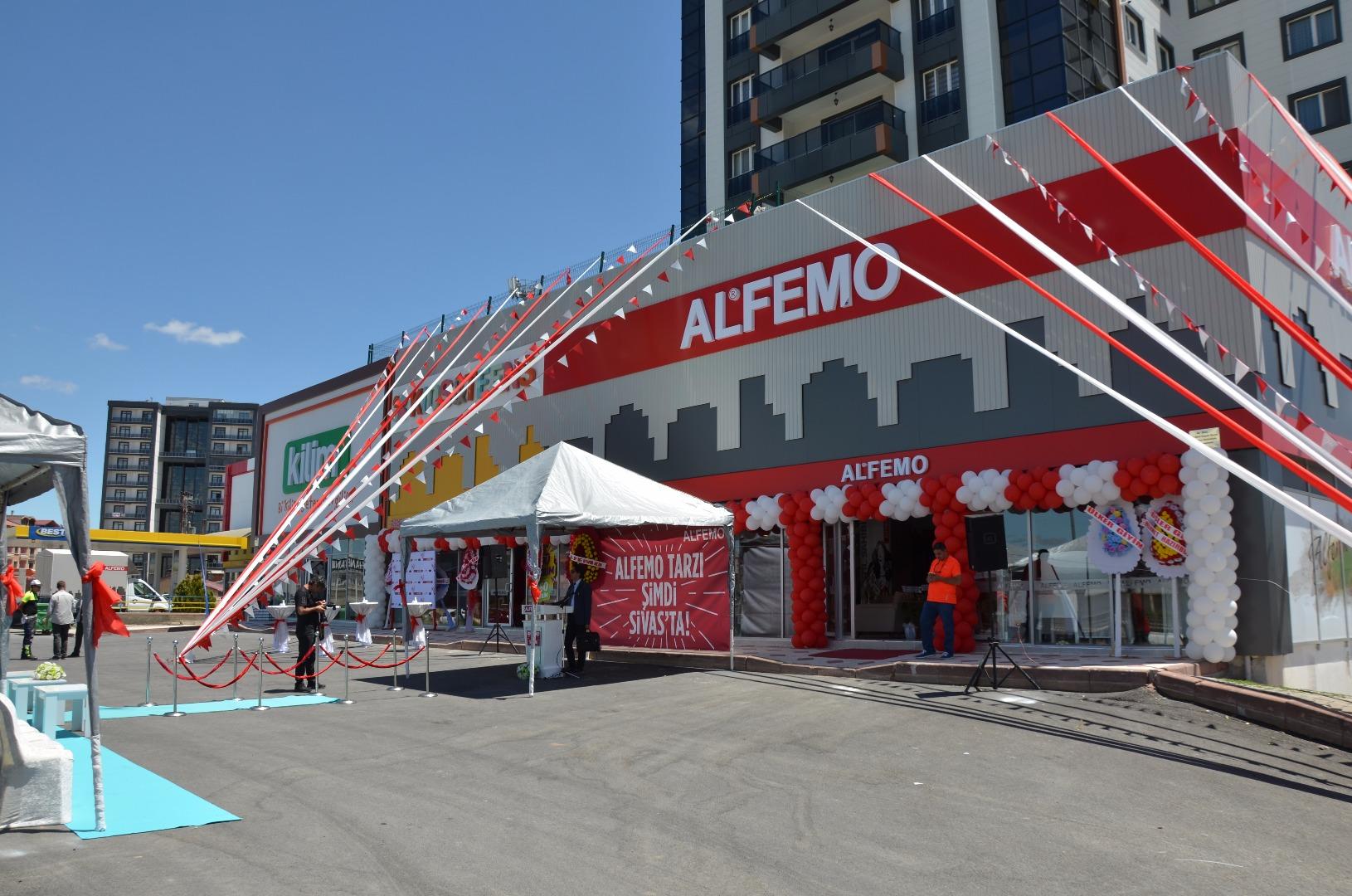 Alfemo 106'ıncı mağazasını Sivas'ta açtı