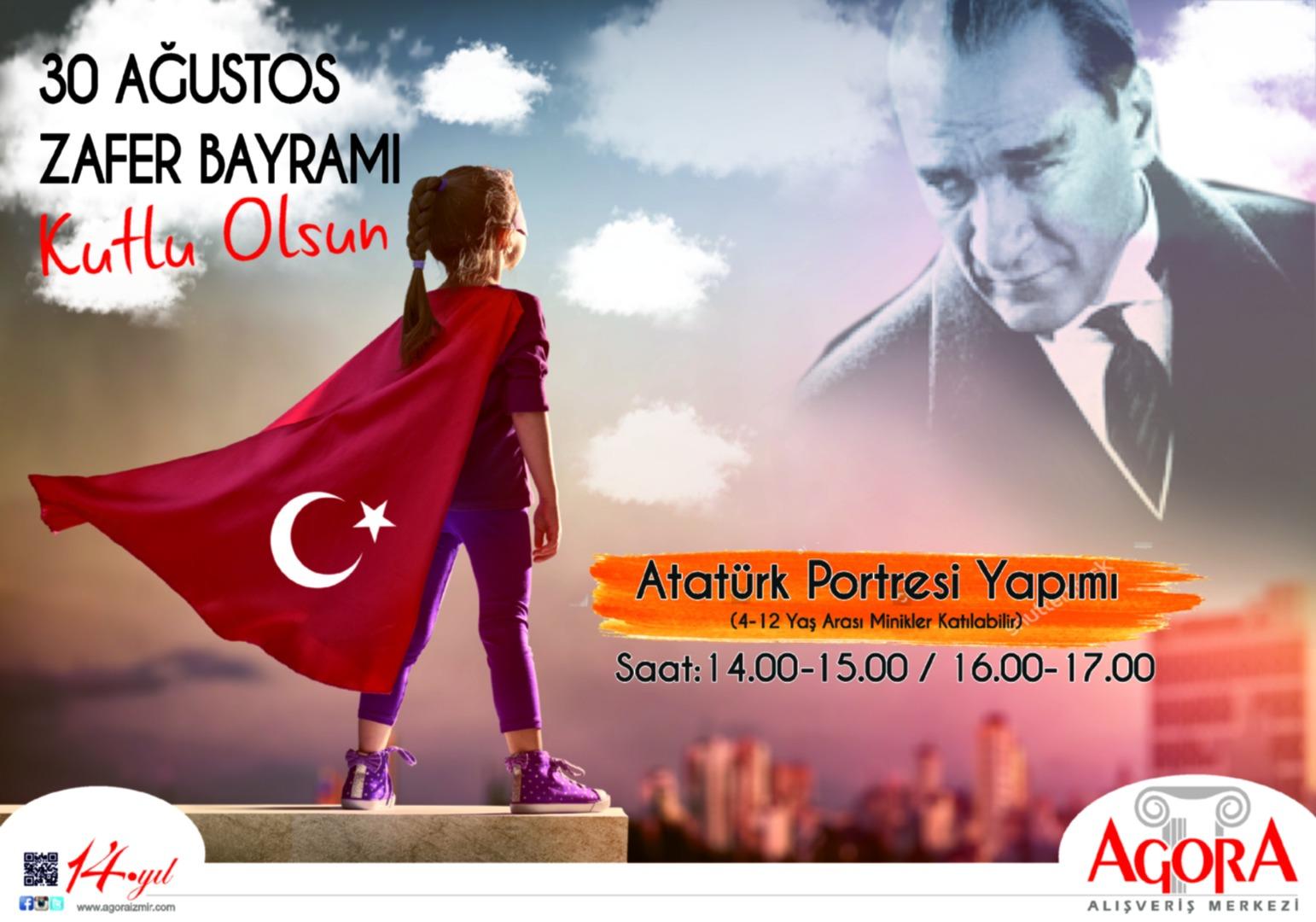İzmir'de 30 Ağustos coşkusu Agora'da yaşanacak
