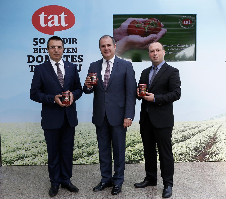 Tat tarımda dijitalleşmeye domatesle devam ediyor