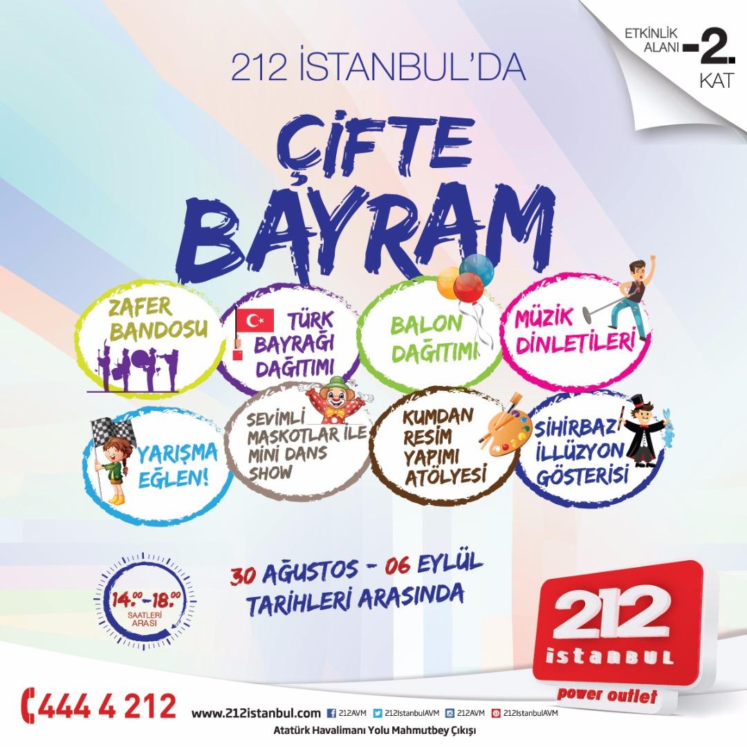 212 İstanbul'da hem küçüklere hem büyüklere bayram!