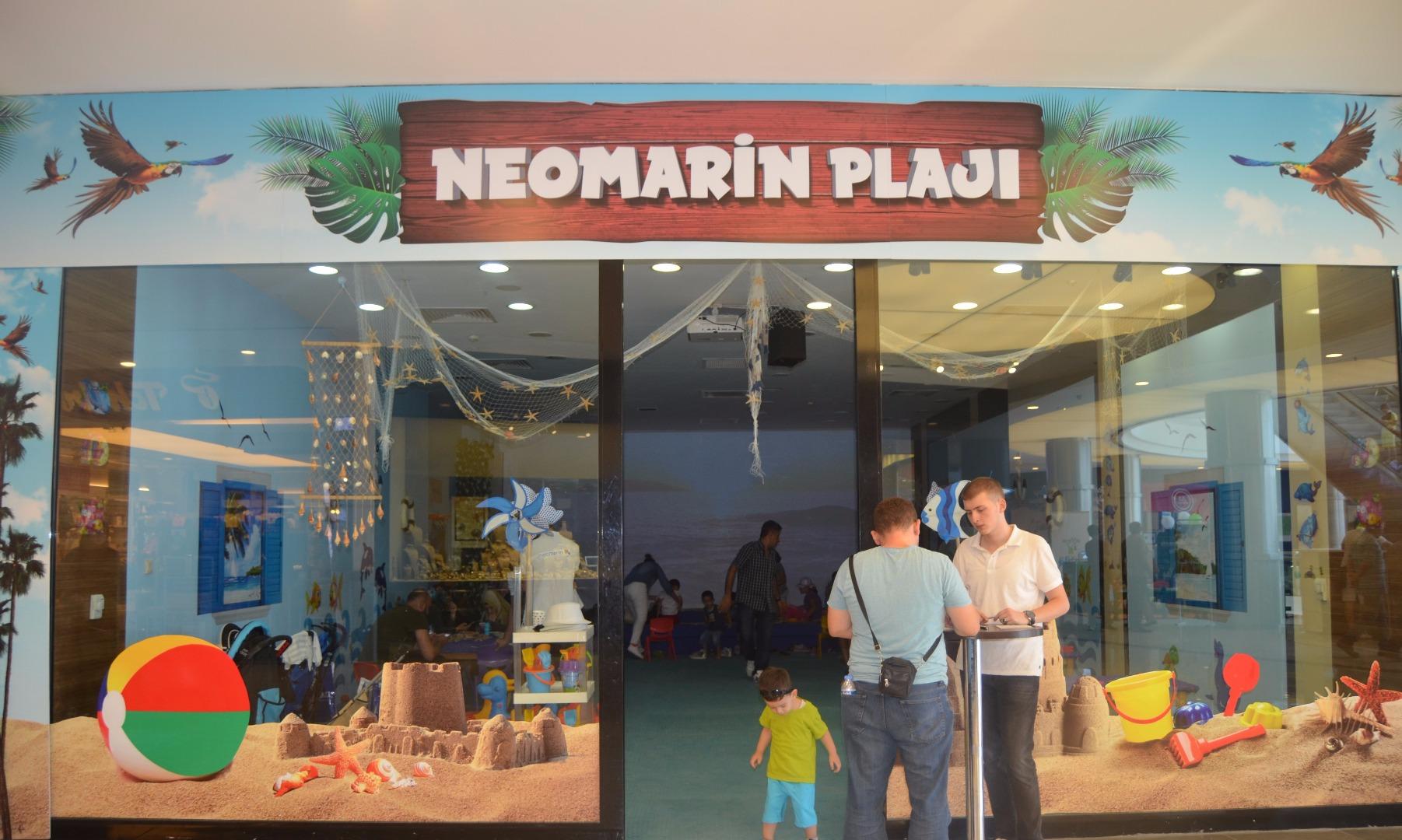 Plaj keyfini Neomarin'de yaşa!