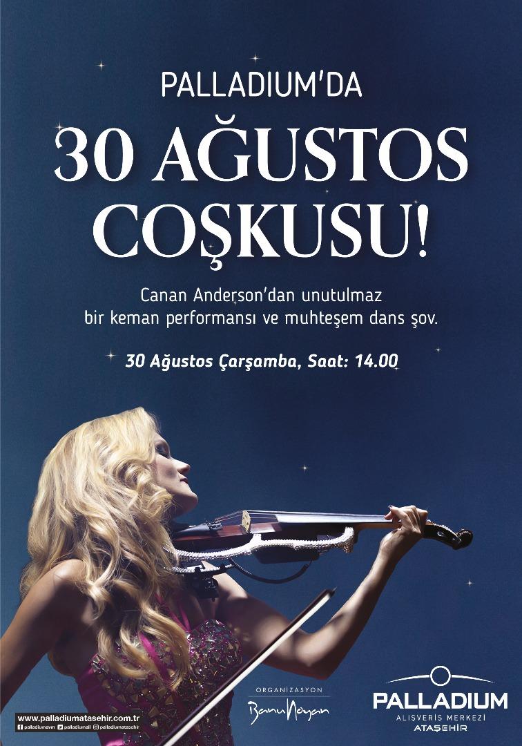 Palladium'da 30 Ağustos Zafer Bayramı konseri