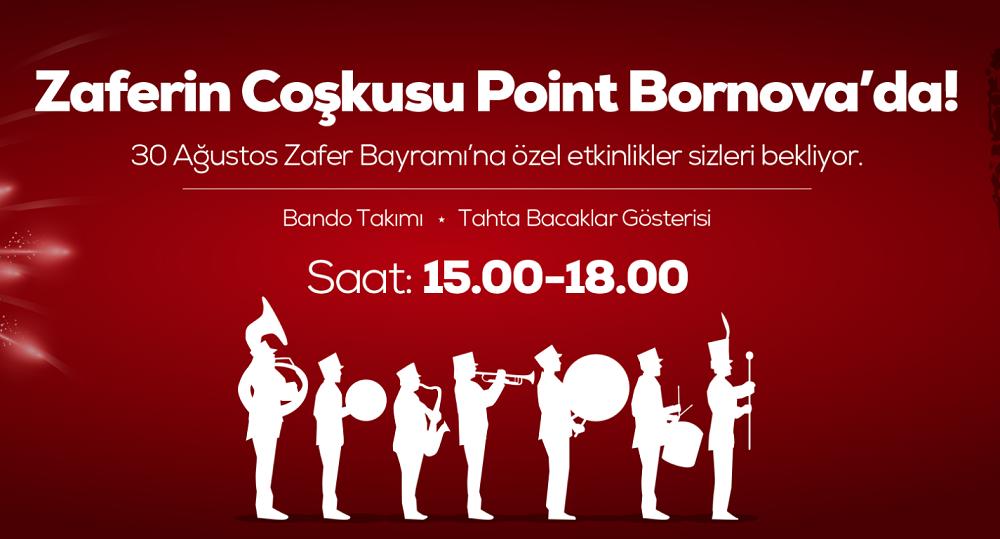 Point Bornova'da coşku dolu bir bayram