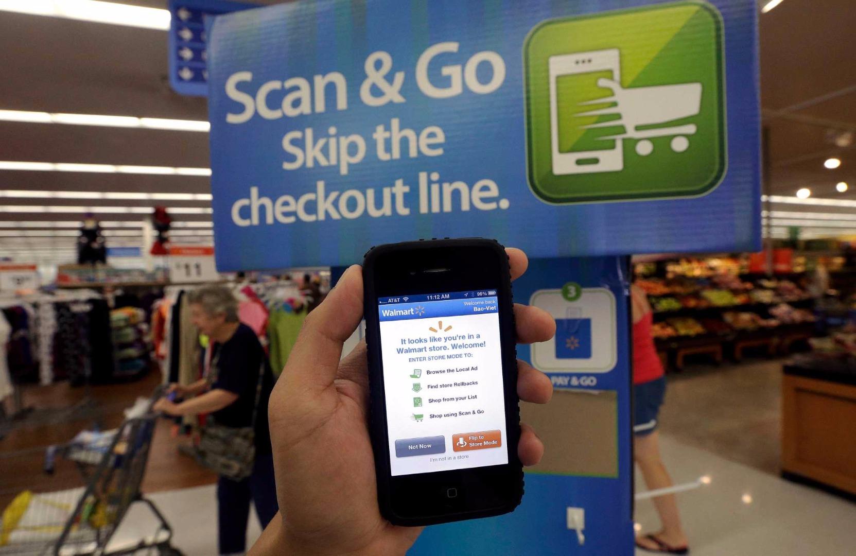 Walmart ödeme sistemini geliştiriyor