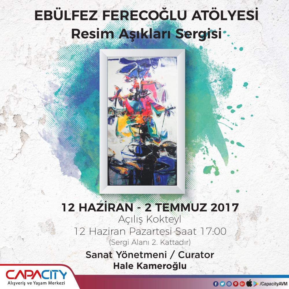 """Capacity Sanat Galerisi'nde """"Resim Aşıkları"""" sergisi açılıyor"""