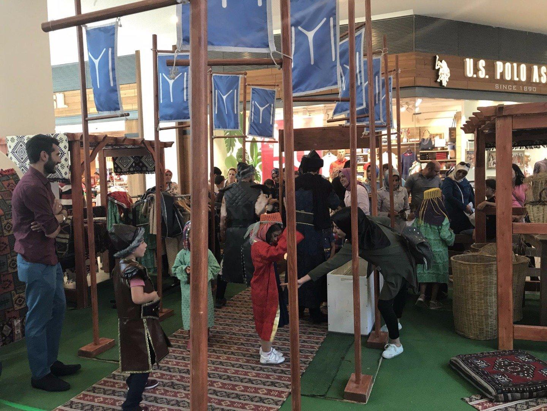 """""""Otağ, Bir Kuruluş Öyküsü"""" etkinliği Forum Erzurum'da devam ediyor"""