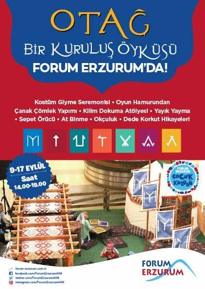 Erzurumlular Osmanlı'nın kuruluşuna tanıklık edecek