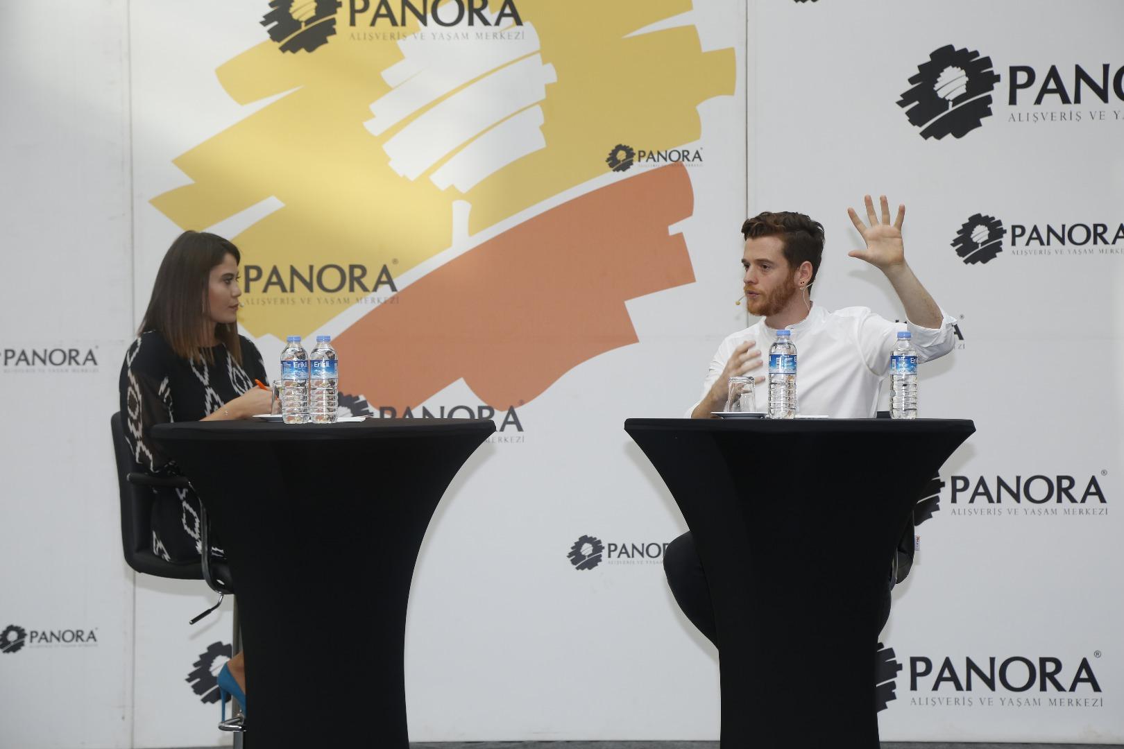 Metin Hara Panora'da sevenleriyle buluştu