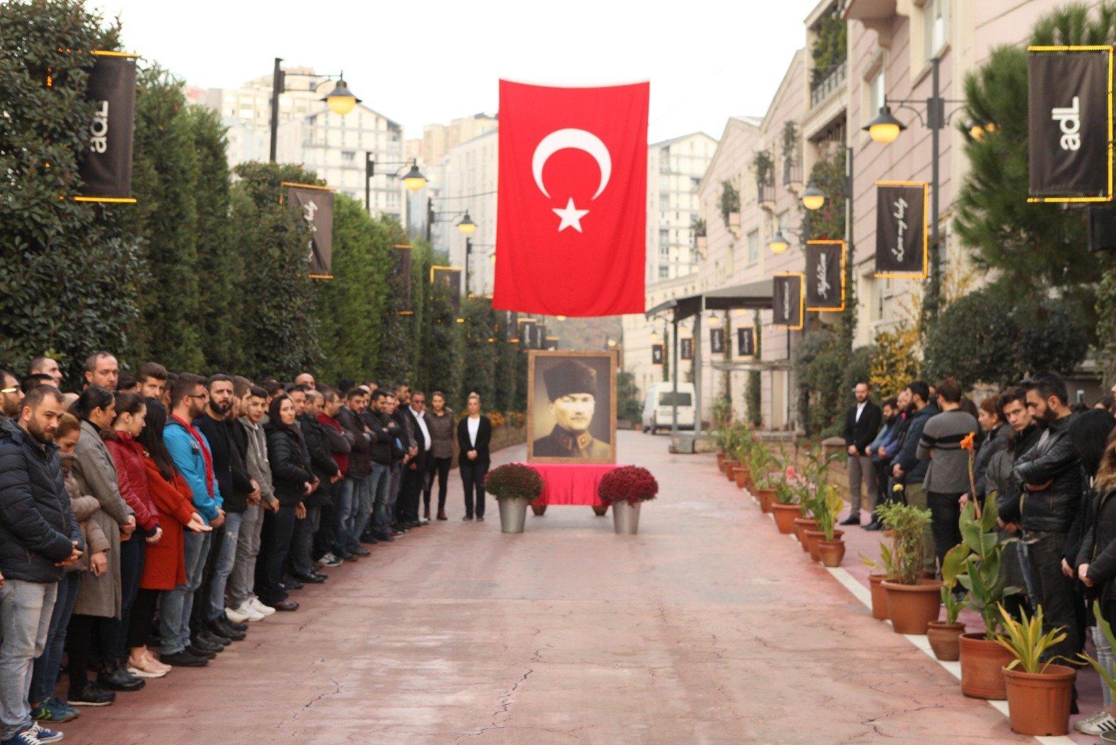 Adil Işık Group Atatürk'ü saygı ve özlemle andı