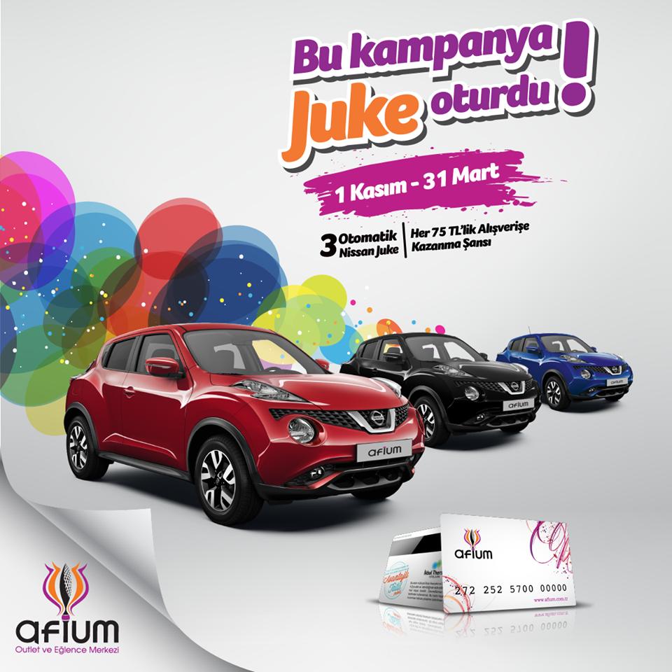 Afium yeni yılda 3 adet SUV hediye edecek