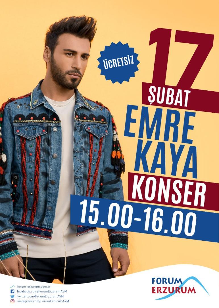 Forum Erzurum'da rüya gibi bir Sevgililer Günü