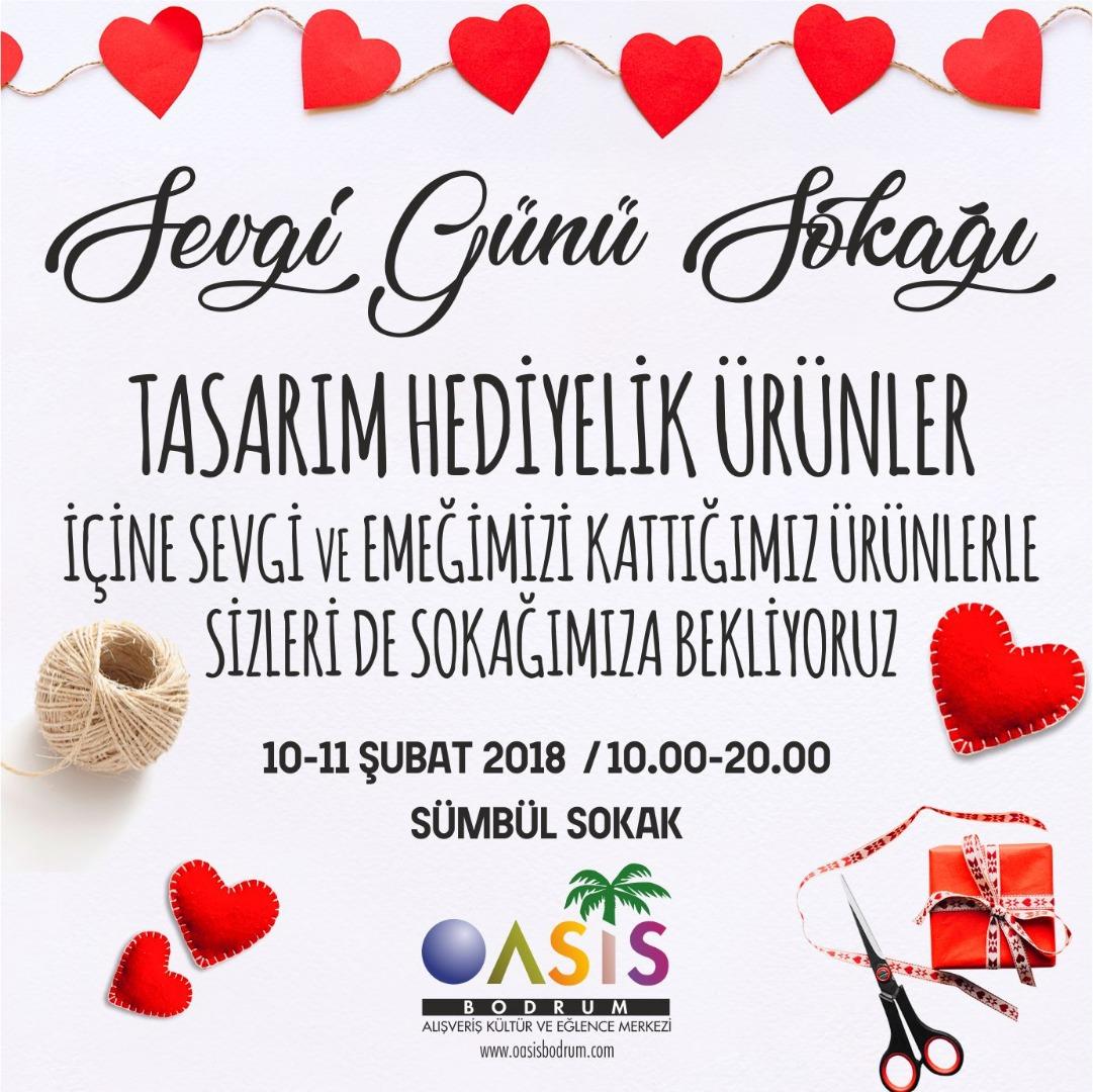 Oasis'te Sevgi Günü Sokağı!