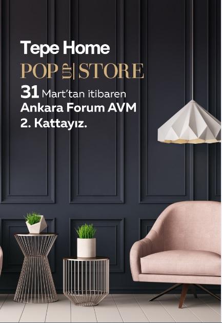 Tepe Home'dan 4'üncü pop-up mağaza!