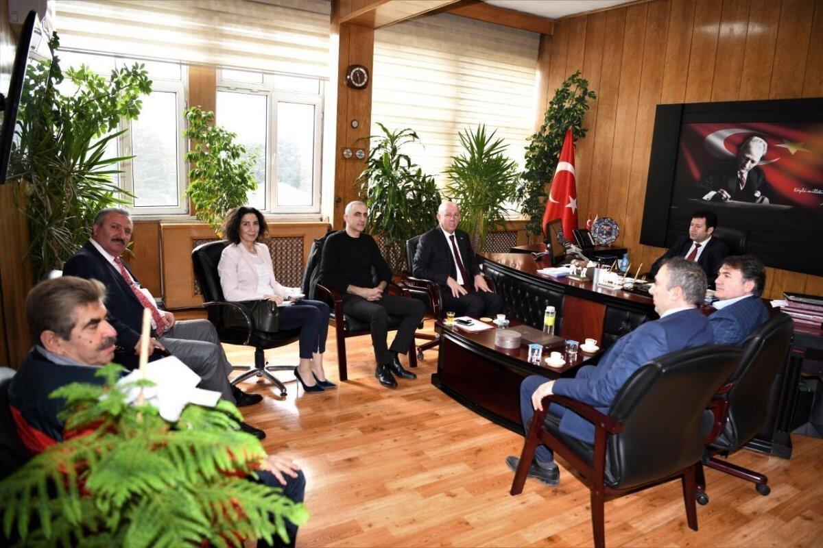Ankara PERDER gıda denetimlerini Tarım İl Müdürü'yle görüştü