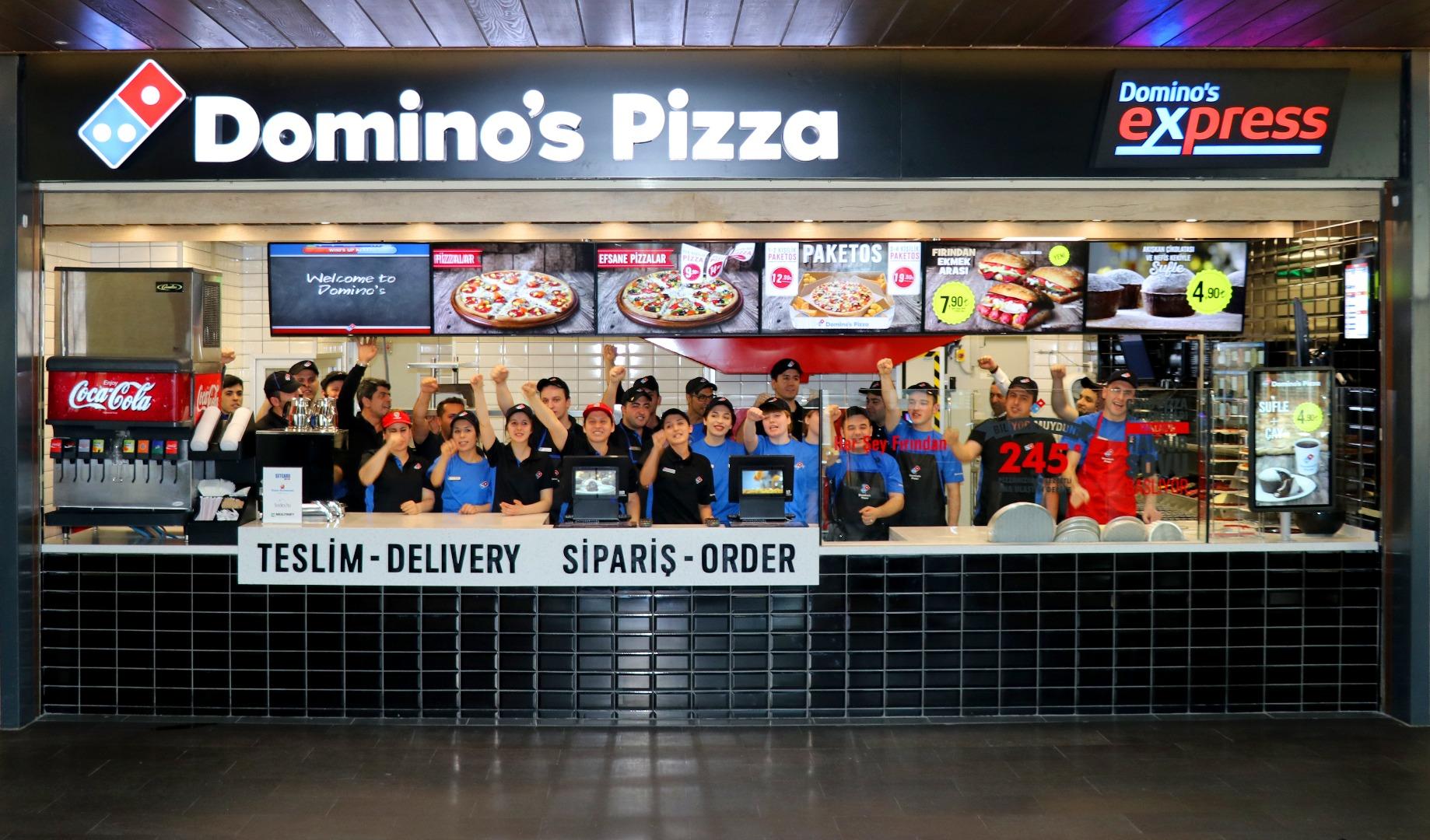 Domino's inovasyonu pizzanın çıkış süresini kısalttı!
