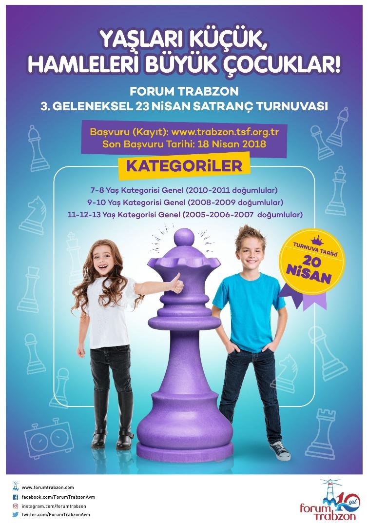 Forum Trabzon 23 Nisan'ı özel etkinliklerle kutlayacak