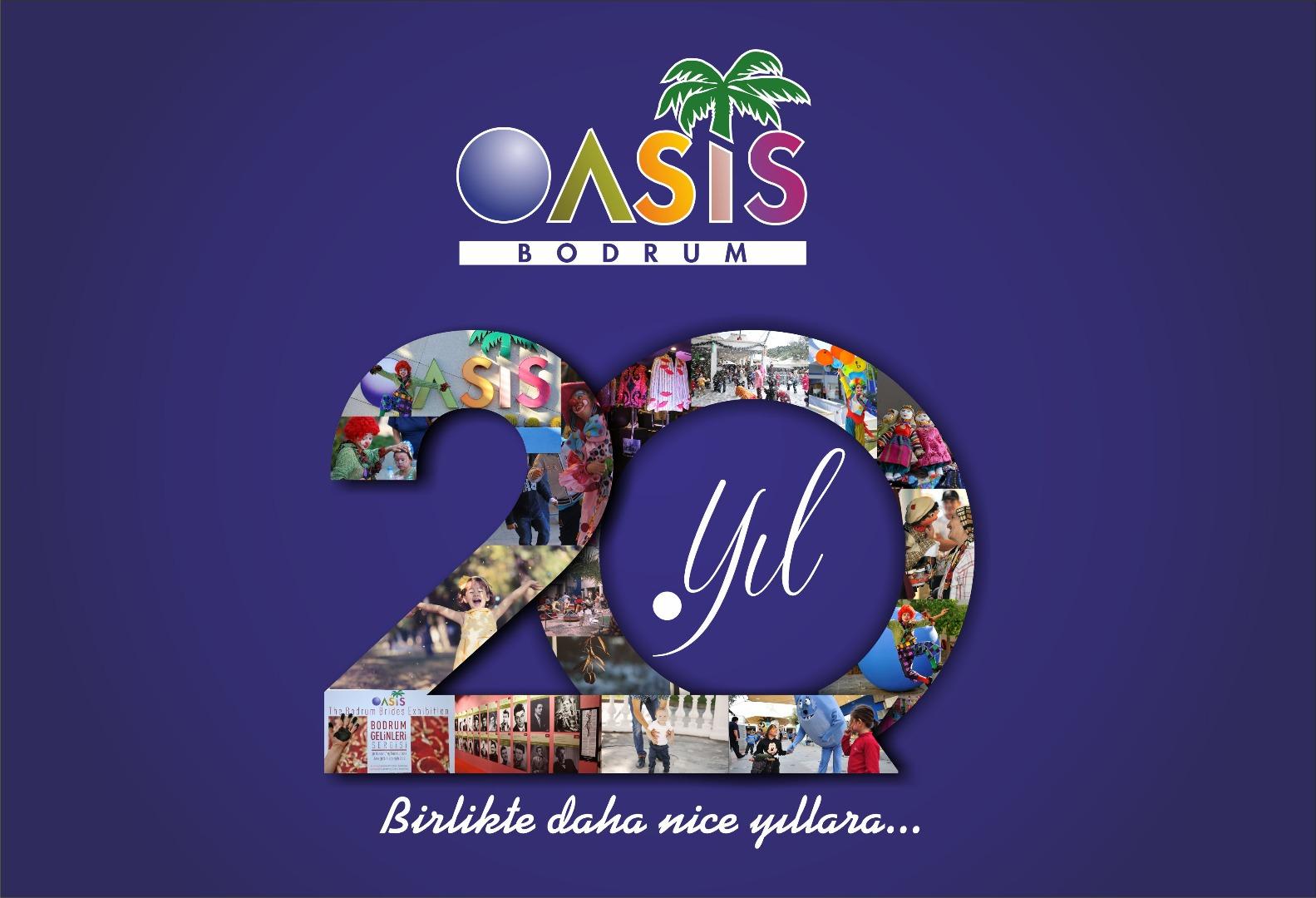 Oasis Bodrum AVM 20 yaşında!