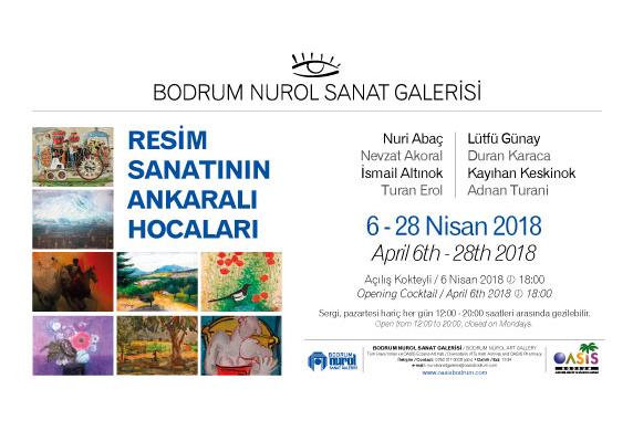 Resim sanatının Ankaralı Hocaları Oasis'te