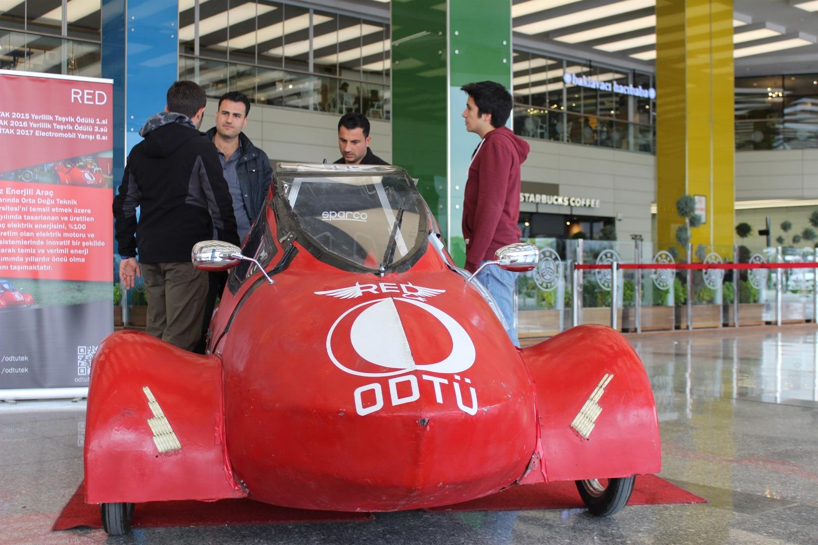 Tasarımlı çevre dostu araçlar ANKAmall'da