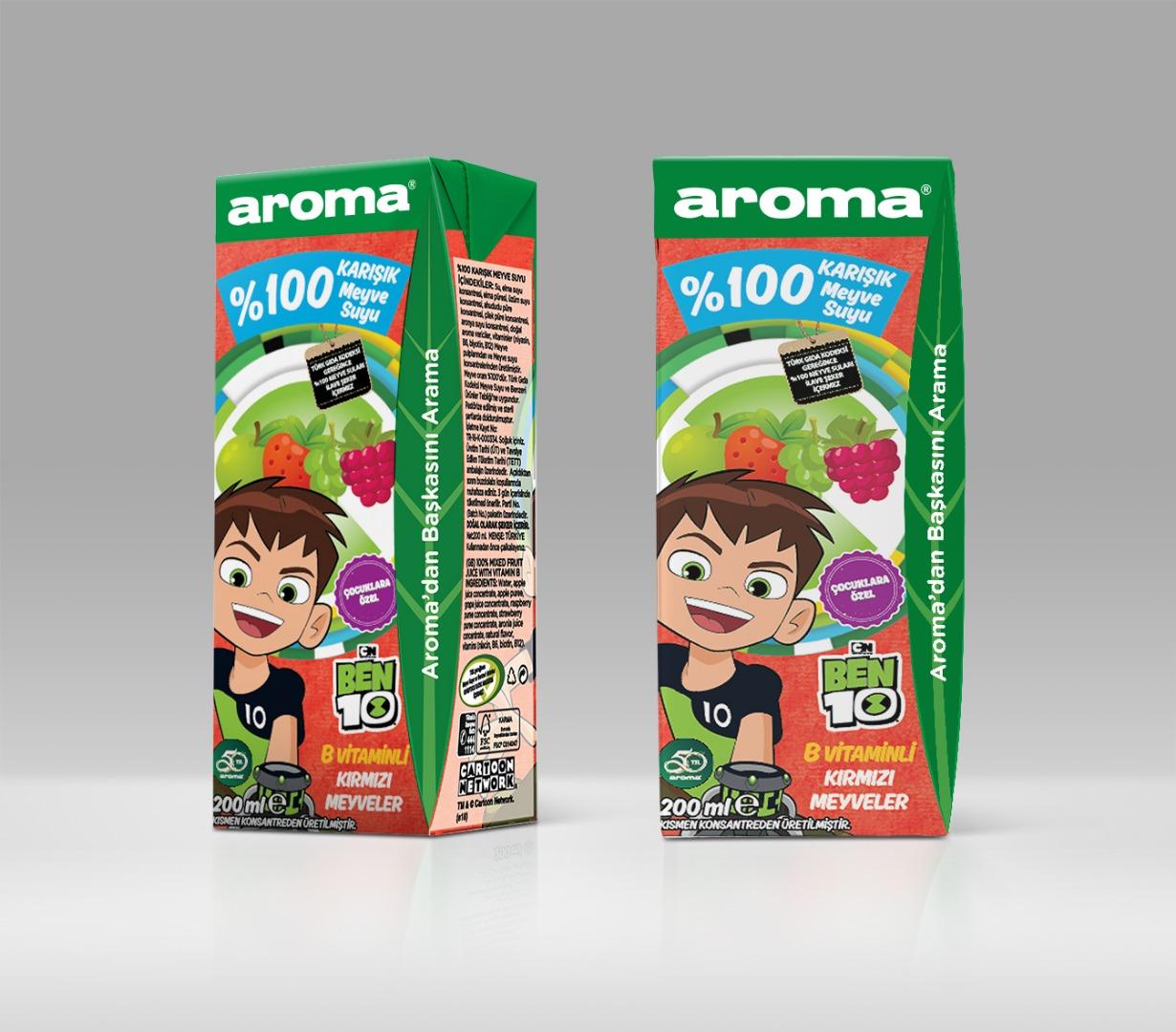Bu yaz çocuklar da Aroma'dan başkasını aramayacak