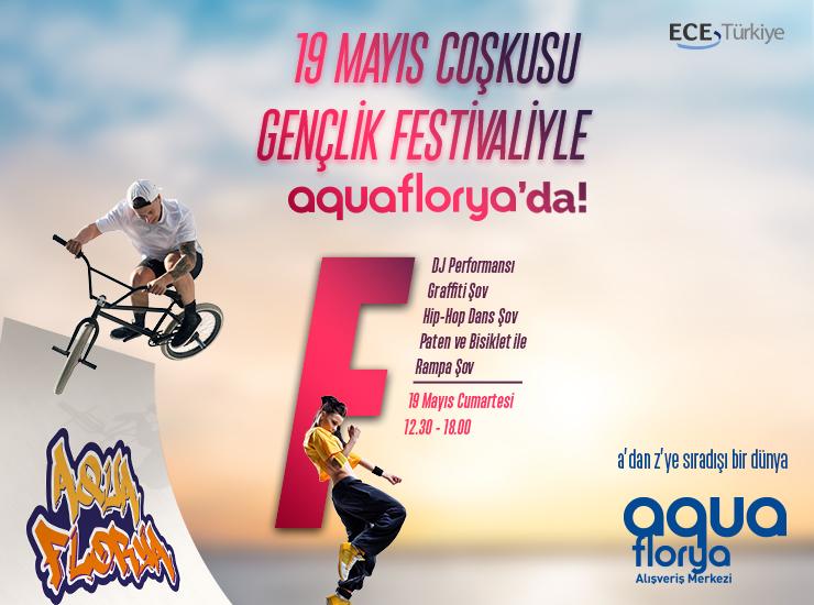 19 Mayıs Aqua Florya'da etkinliklerle kutlanacak
