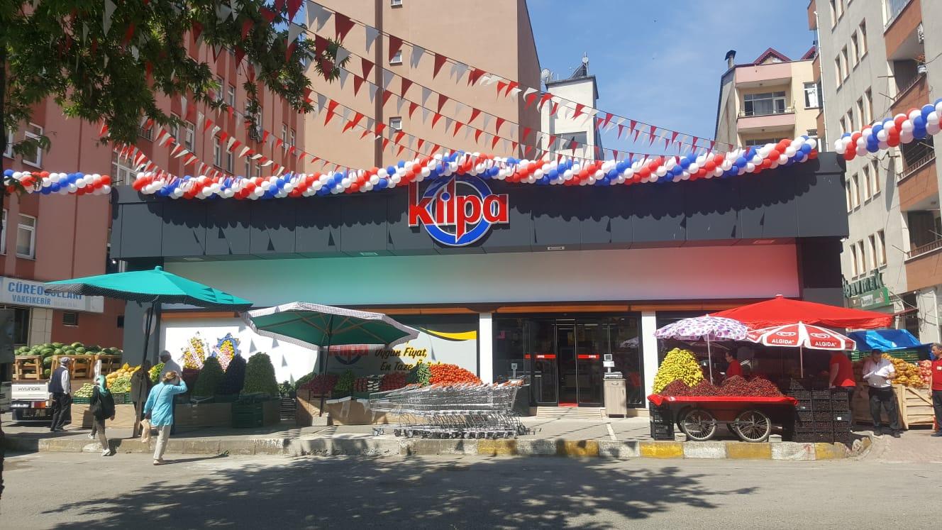 Kilpa Marketler Vakfıkebir'de 2'nci şubesini açtı