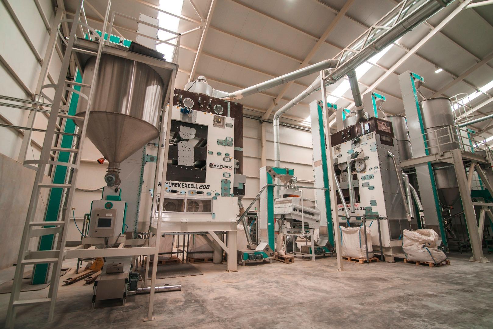 Duru Bulgur fabrika yatırımlarına devam ediyor