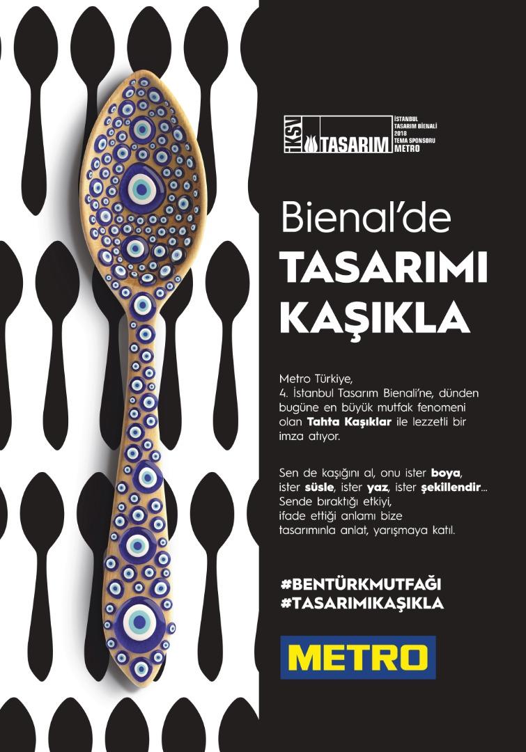 Metro Türkiye, 4. İKSV Tasarım Bienali'nin tema sponsoru oldu