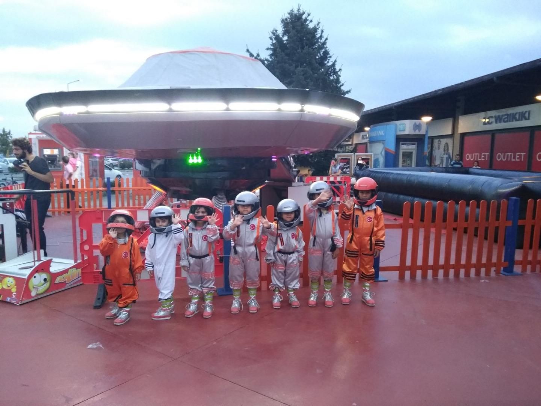 Küçük astronotların büyük serüveni