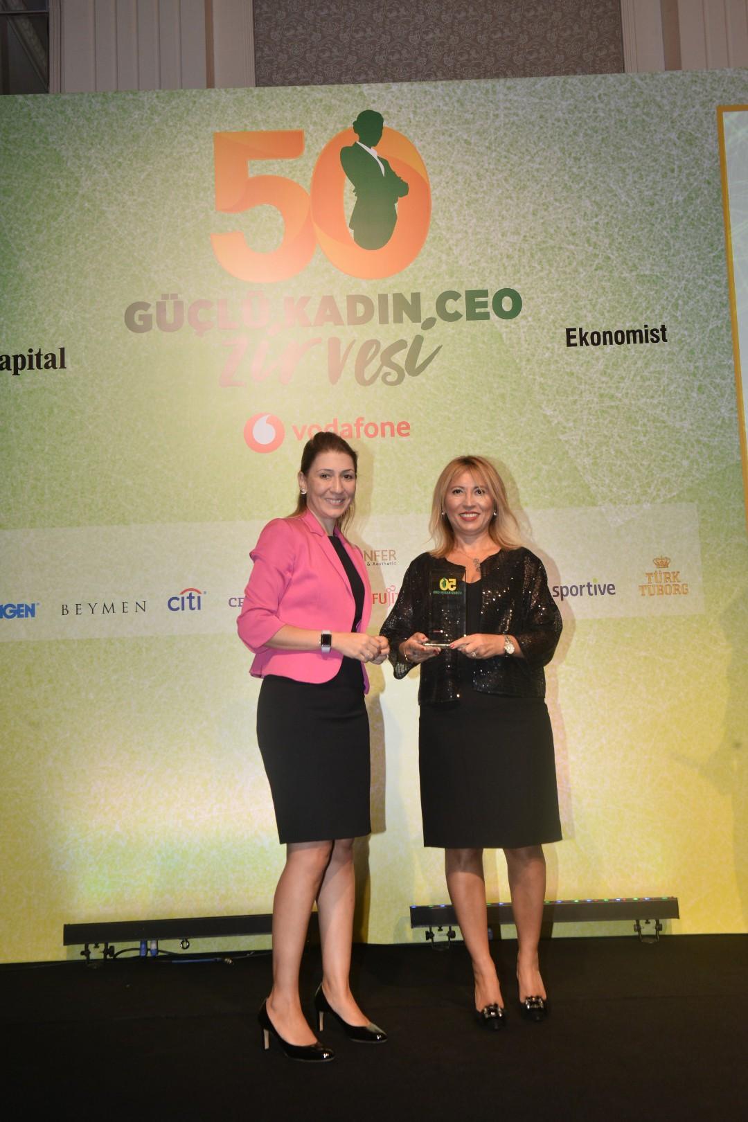 Tat Gıda genel müdürü en güçlü kadın CEO'lar arasında