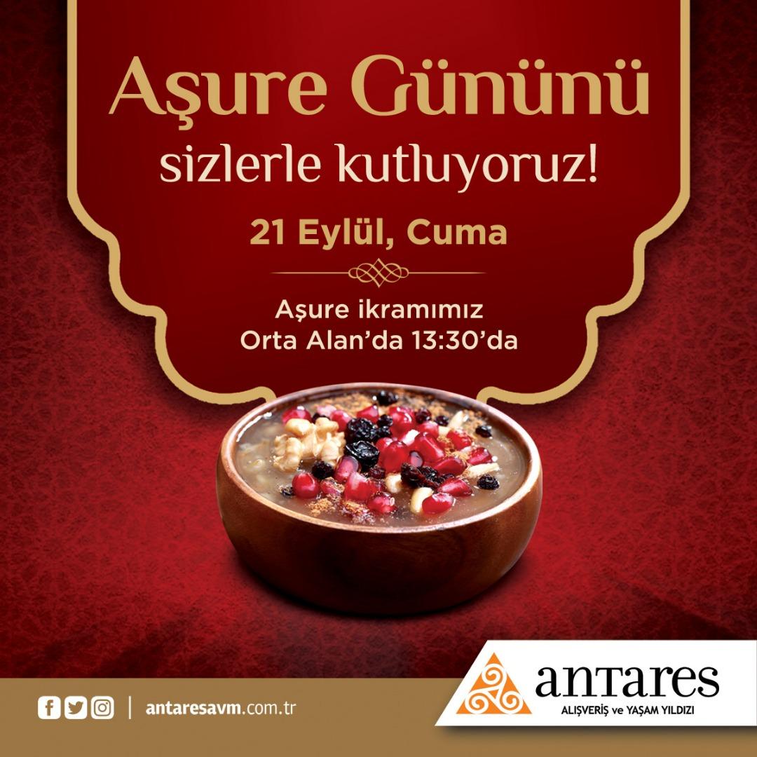 Antares, aşure gününü ziyaretçileriyle kutladı!