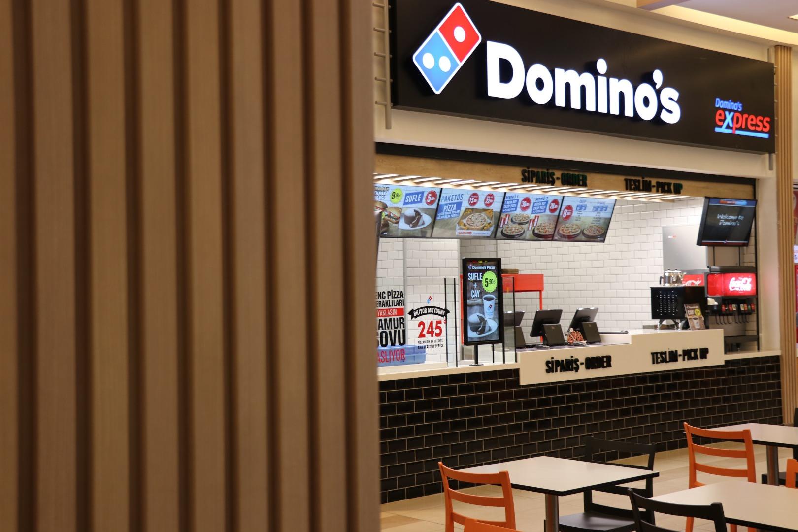 Domino's Pizza AVM yatırımlarına yenisini ekledi