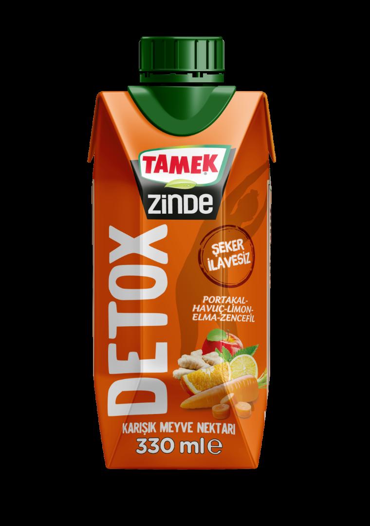 Tamek'in Zinde Detox ailesi genişliyor