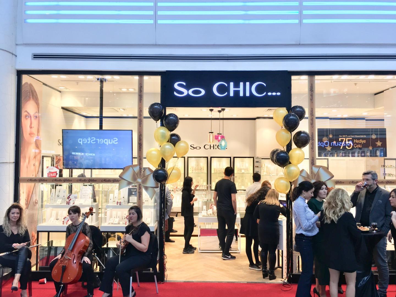 So CHIC… yeni mağazasını Aqua Florya'da açtı