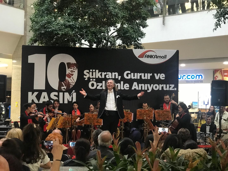 Musa Göçmen'den muhteşem 10 Kasım konseri