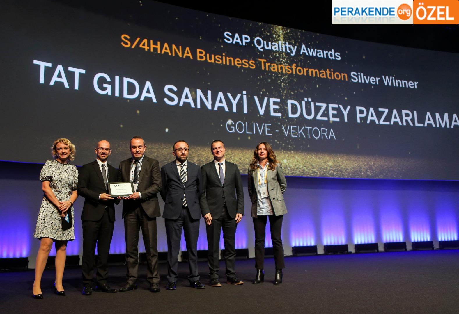 SAP ve Tat Gıda dönüşüm için bir arada