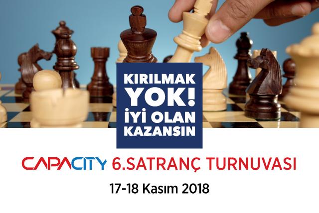 Capacity 6'ncı Geleneksel Satranç Turnuvası başlıyor