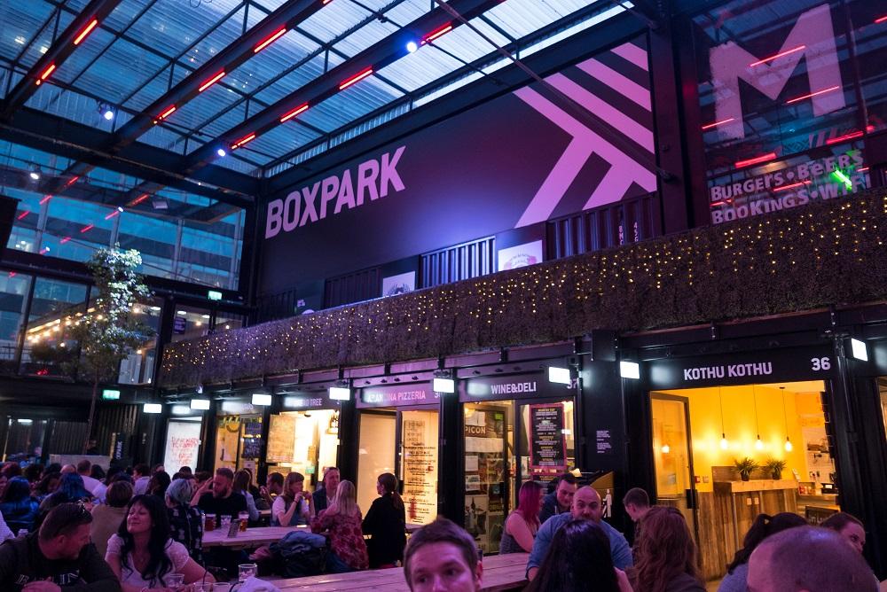 Boxpark en büyük pop-up mağazasını Wembley'de açtı