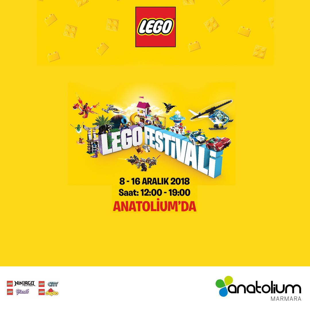 LEGO'nun eğitici oyunları Anatolium Marmara AVM'de