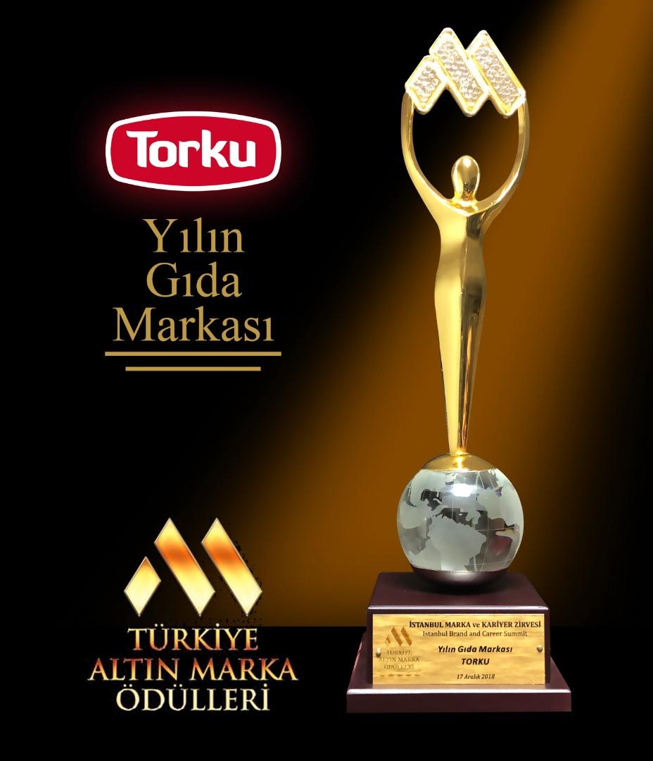 Gıdada altın marka Torku seçildi